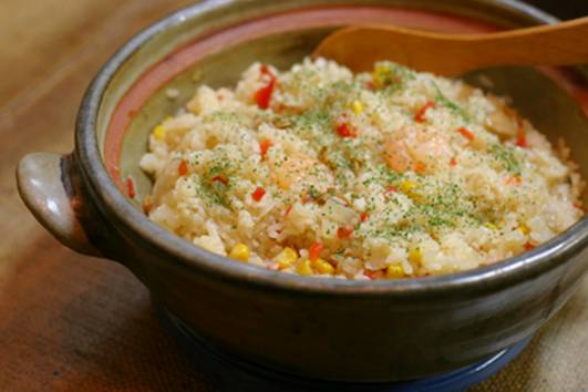 (Photo) Pilaf cooked with donabe